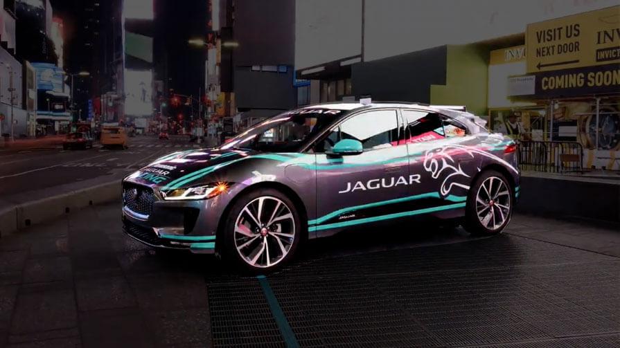 Jaguar stop motion